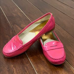MICHAEL KORS Pink Loafers